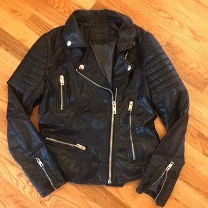Blank NYC black moto jacket